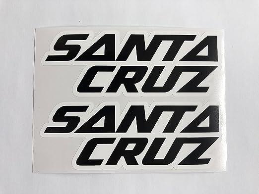 Compatible Santa Cruz Vinyl Decals Stickers Sheet Bike Frame Cycling Bicycle