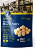 AZNUT Roasted Unsalted Hazelnuts , Premium Quality 100% Natural Non-GMO Project Certified, Kosher Certified, No Salt, No…