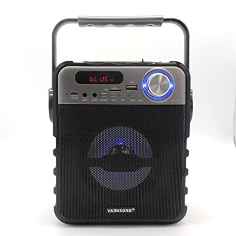 Amazon.com: VAENSONG T1 Reproductor de Altavoz Bluetooth ...