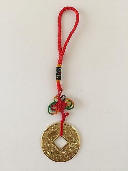 Feng Shui aliado amigo moneda serpiente gallo Ox amuleto EE. UU. Vendedor