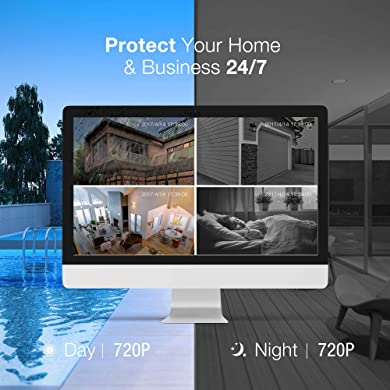 Funlux Security Camera System with High-End Clarity