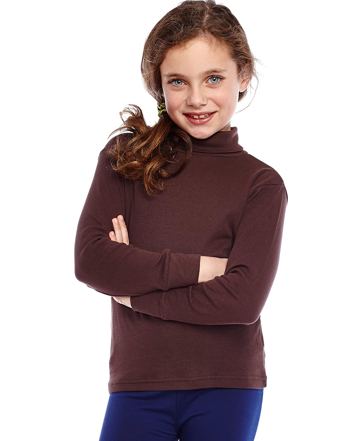 Amazon.com: Leveret Girls Boys & Toddler Solid Turtleneck 100% Cotton Kids  Shirt (2 Toddler-14 Years) Variety of Colors: Clothing