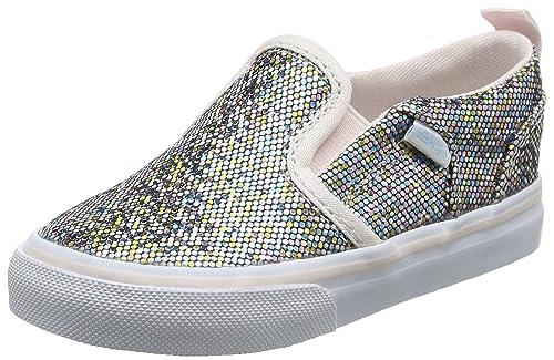 Vans TD Asher V Z, Botines de Senderismo para Bebés, (Glitter), 26 EU: Amazon.es: Zapatos y complementos