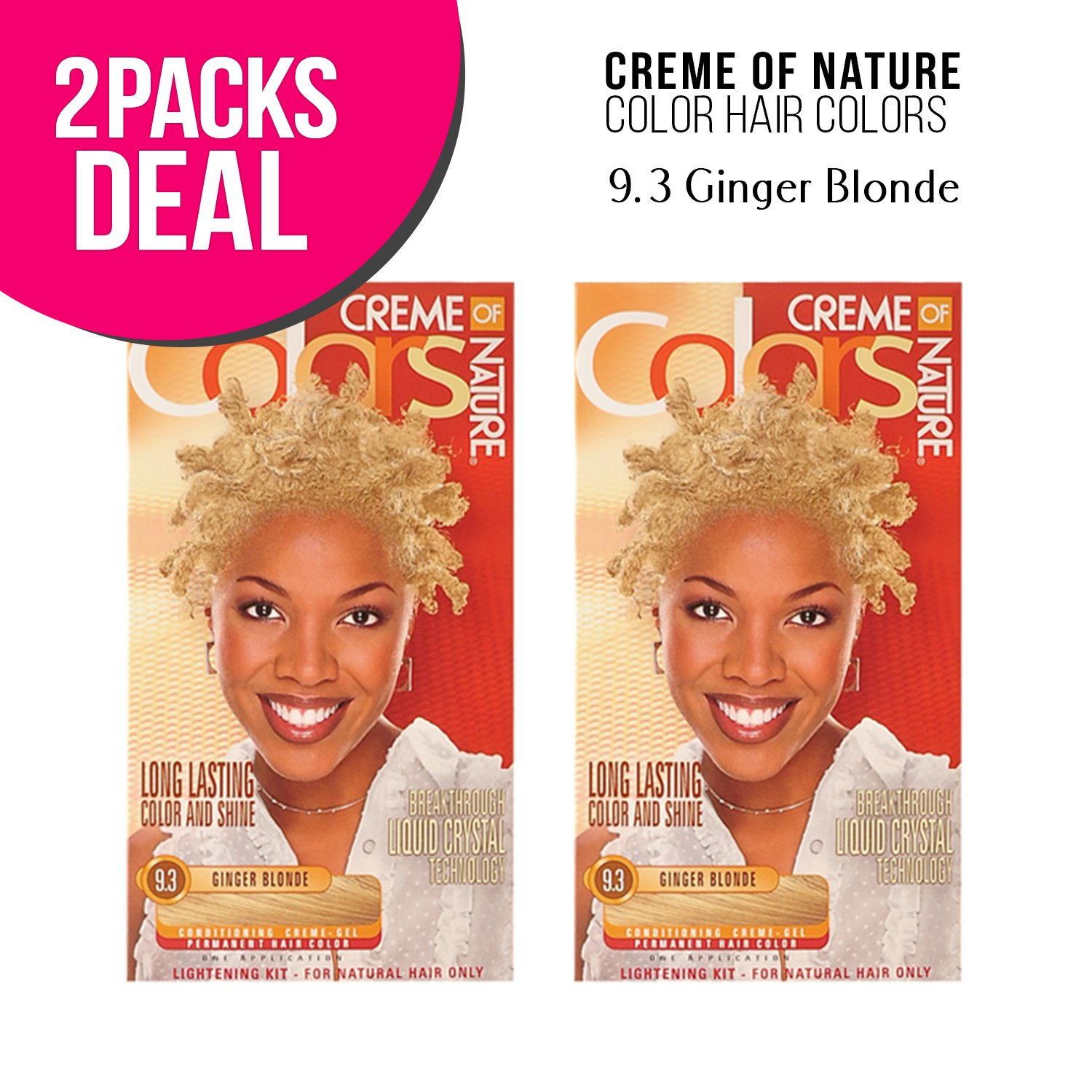 Amazon Creme Of Nature Color Hair Colors 2 Pack 93 Ginger