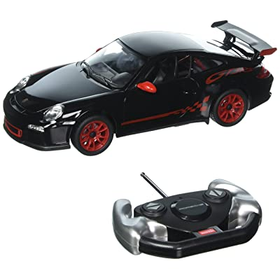 Radio Remote Control Car 1/14 Scale Porsche 911 GT3 RS RC RTR Black by RASTAR: Toys & Games