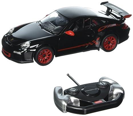 Amazon Com Radio Remote Control Car 1 14 Scale Porsche 911 Gt3 Rs