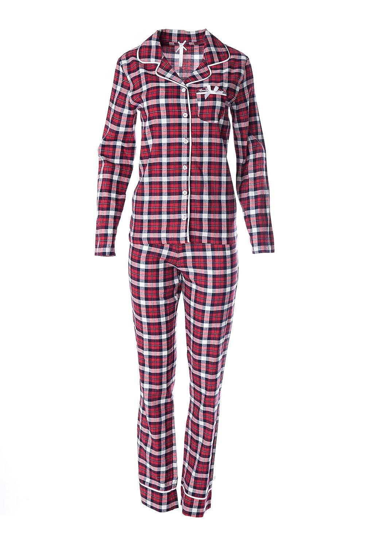 Louis & Louisa Schlafanzug & Nursing - 2 in 1 Umstandsschlafanzug Sleep Shirt + Hose Pyjama Nachtwäsche Still- Pyjama