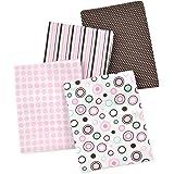 Amazon Com Carter S 4 Pack Wrap Me Up Receiving Blanket