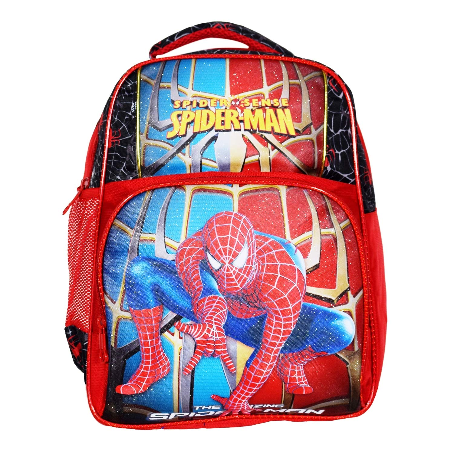 BACKPACK with COIN BAG WALLET TRAVEL LUGGAGE ~ Spiderman 2