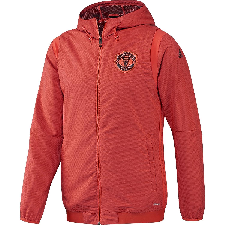 Adidas Manchester United FC EU PRE JKT - Jacke für Herren, Farbe Rot, Größe