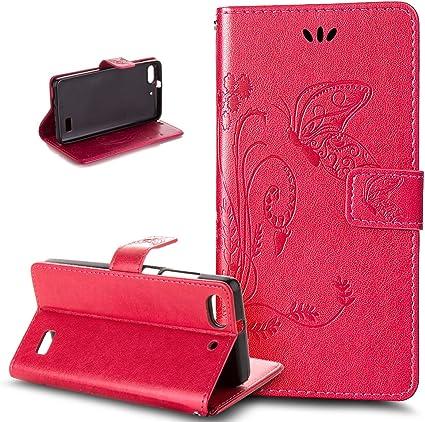 Accessori Blu Huawei G Play Mini cover ikasus cover in pelle PU ...