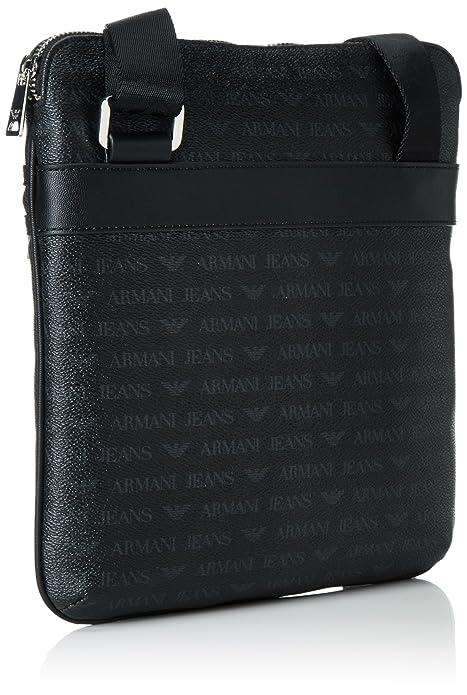 c800d115526e Armani Jeans Men s 932533CC996 Shoulder Bag Black Schwarz (Nero 00020)  28x4x27 cm  Amazon.co.uk  Shoes   Bags