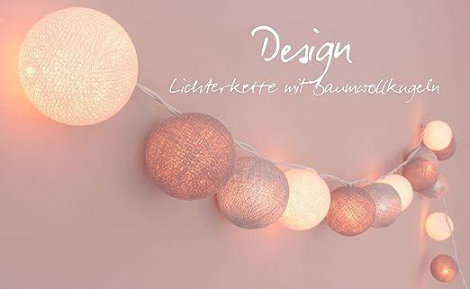 CREATIVECOTTON Cadena de luces LED Feliz Navidad con 35 bolas de ...