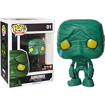 Amazon.com: Funko Amumu (GameStop Exclusive) POP! Games x ...
