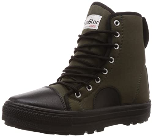 6cac054a2609 Unistar Men s Canvas Boots  Buy Online at Low Prices in India ...