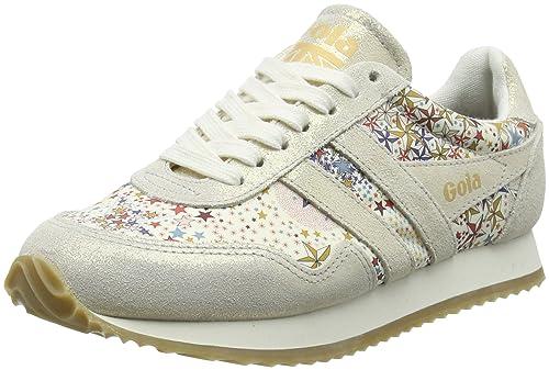 Gola Spirit Liberty Ad Off White, Zapatillas para Mujer, Hueso Powder, 38 EU: Amazon.es: Zapatos y complementos