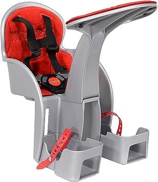 Weeride 98072E Silla Portabebé para Bicicleta, Unisex bebé, Gris, Talla Única: Amazon.es: Deportes y aire libre