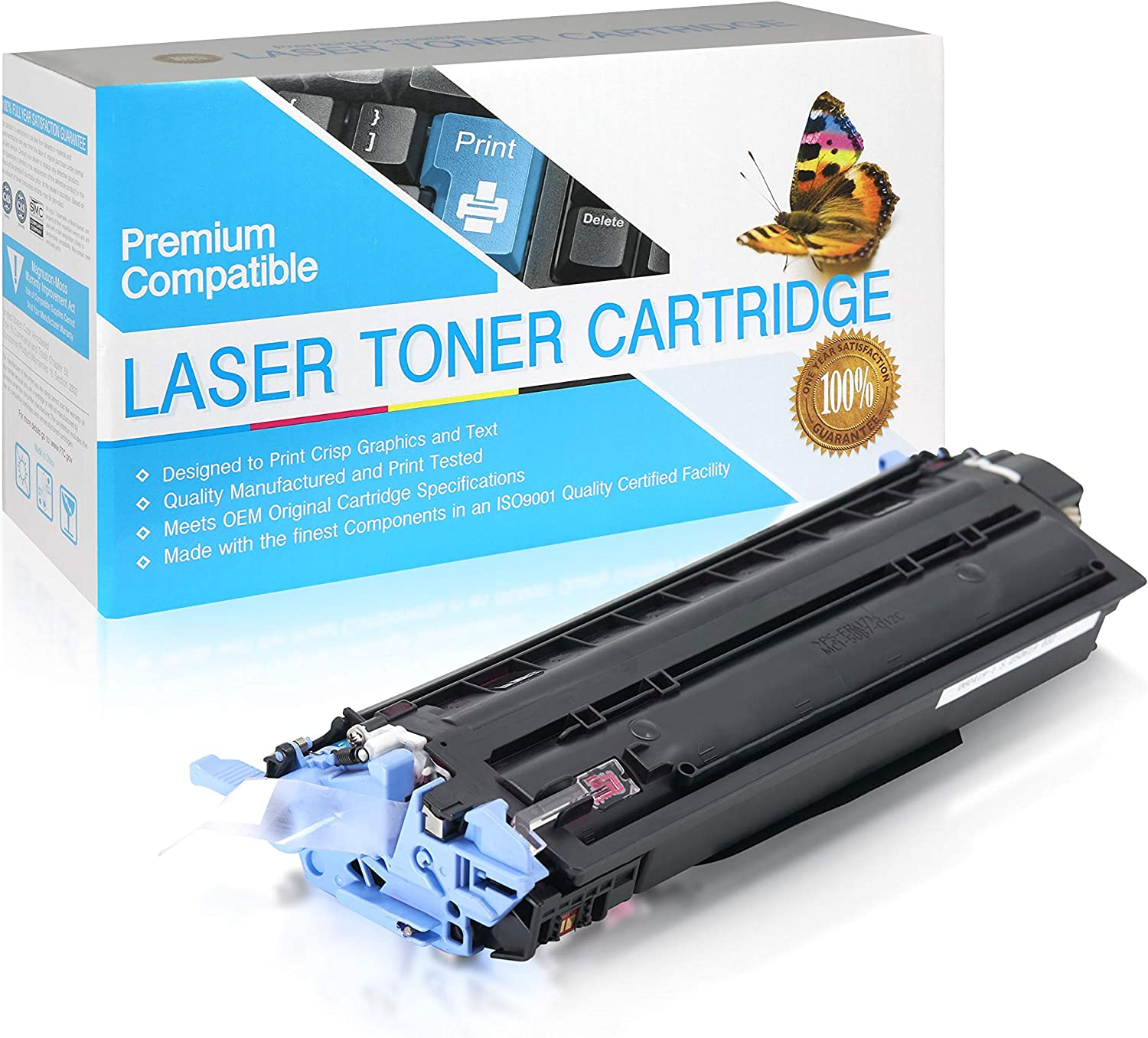 SuppliesOutlet Compatible Toner Cartridge Replacement for HP 124A / Q6003A (Magenta,1 Pack)