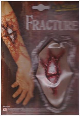 Fraktur - Gebrochener Knochen - Horror Effekt Halloween Grusel ...