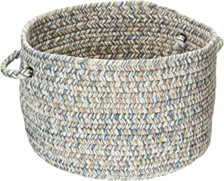 product image for Colonial Mills Corsica Utility Basket, 14 by 10-Inch, Lake Blue