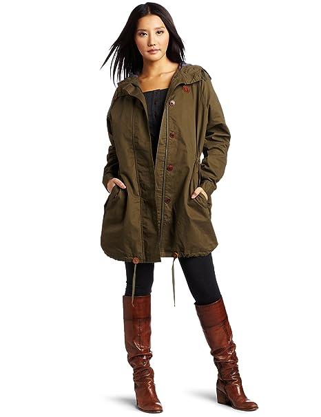 Fred Perry Parka para mujer chaqueta de hípica para niños ...