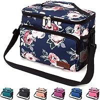 Venture Pal Leakproof Insulated Lunch Bag with Adjustable Shoulder Strap (Multiple Colors)