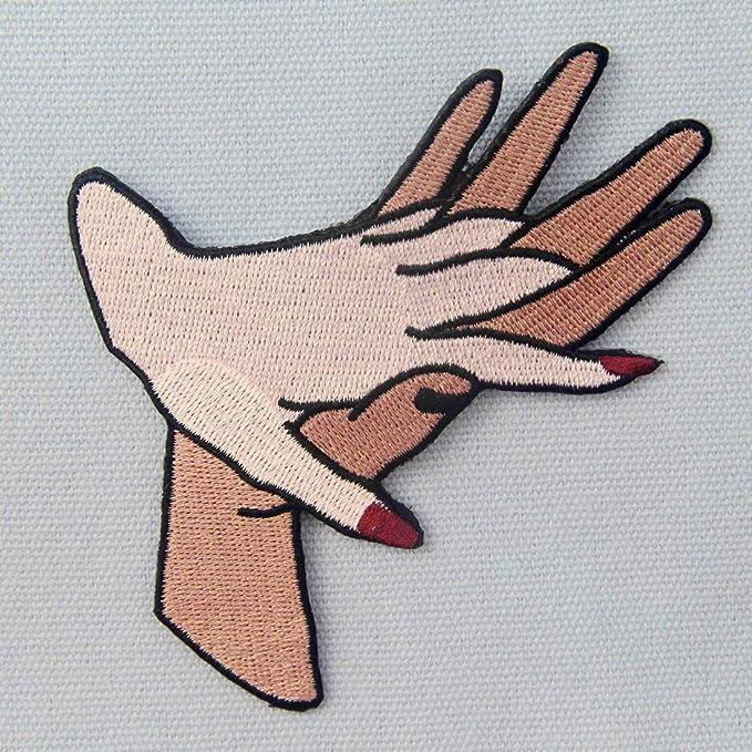 Parche termoadhesivo para la ropa, diseño de Contigo para siempre ...
