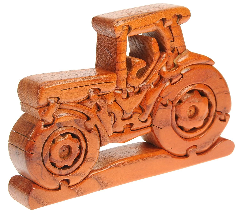Traktor 3D Puzzle: Spaß Neuheit Handcrafted Weihnachtsgeschenk-Idee ...