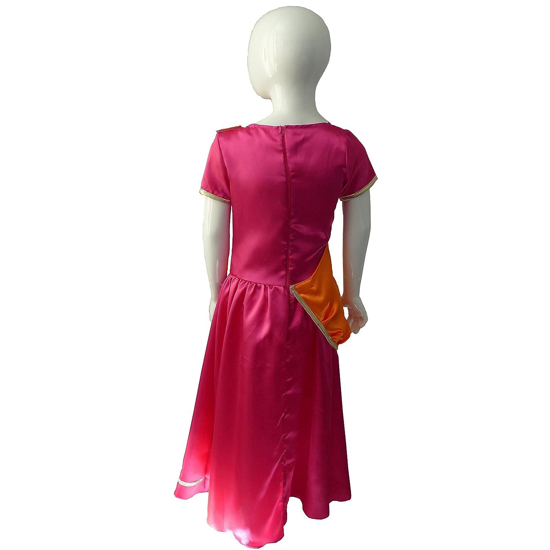 César - Disfraz de sevillana para niña, talla 3-5 años (F233-001)