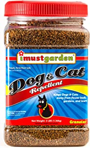 I Must Garden Dog & Cat Repellent - 3lb Granular - Natural & Pet Safe