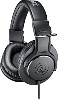 Audio Technica ATH-M20x Over-Ear 3.5mm Wired Professional Headphones