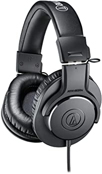 side facing audio-technica ath-m20x