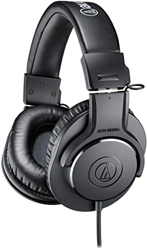 Audio-Technica ATH-M20x Professional Studio Monitor Headphones review