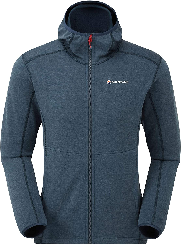 Lightweight stretchy fleece hoodie Montane Viper Hoodie
