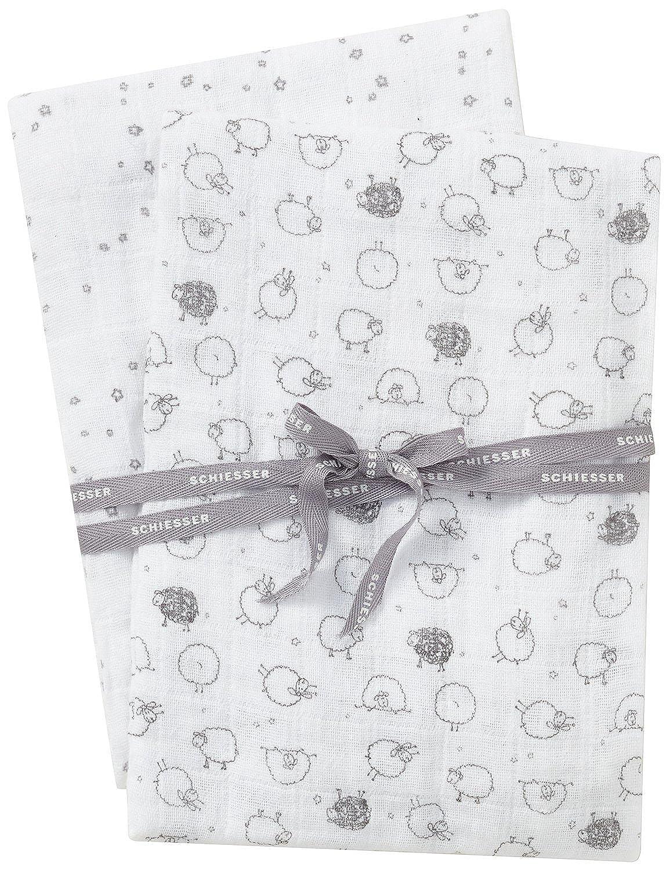 Schiesser Baby - Jungen Unterwäsche-Set Schmusetücher, 2er Pack Mehrfarbig (Sortiert 1 901) Schiesser AG 154669