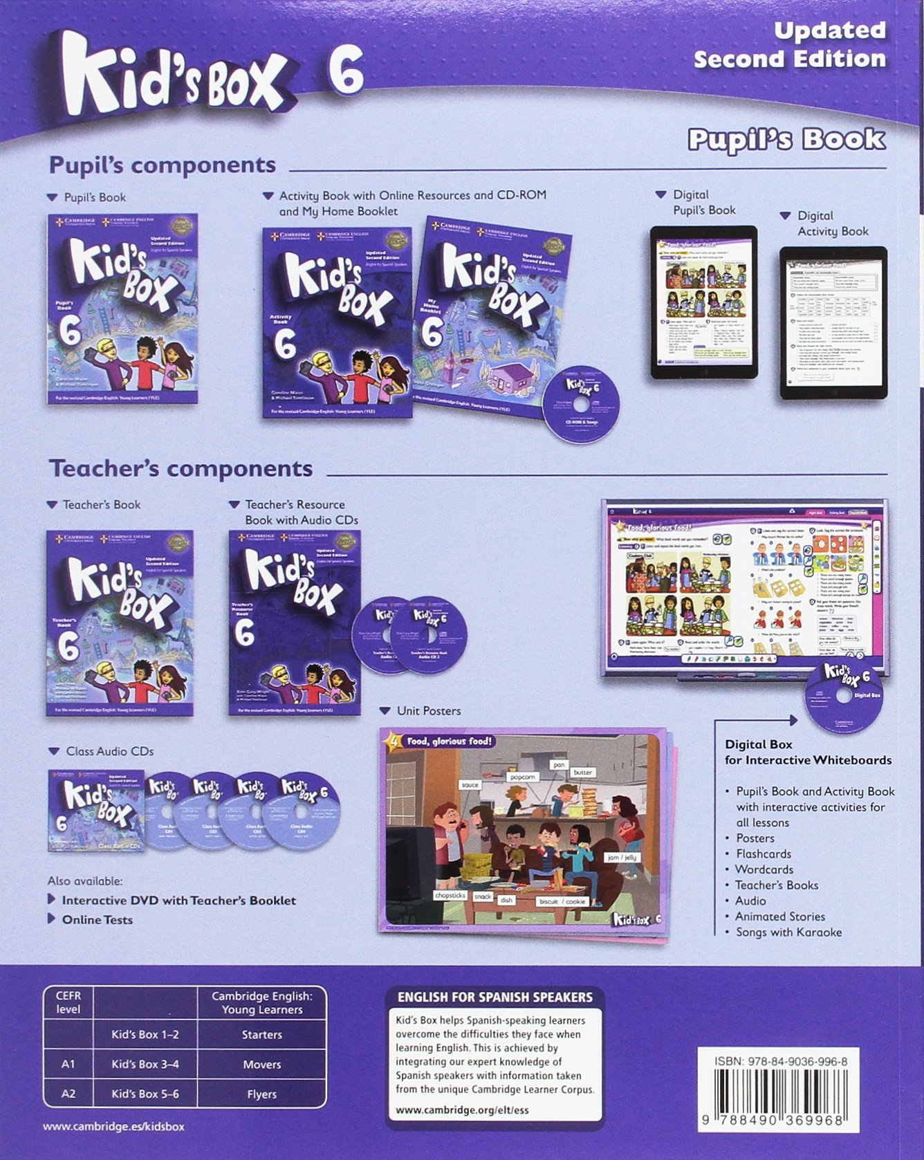 ... Kid s Box Level 6 Pupil s Book Updated English for Spanish Speakers