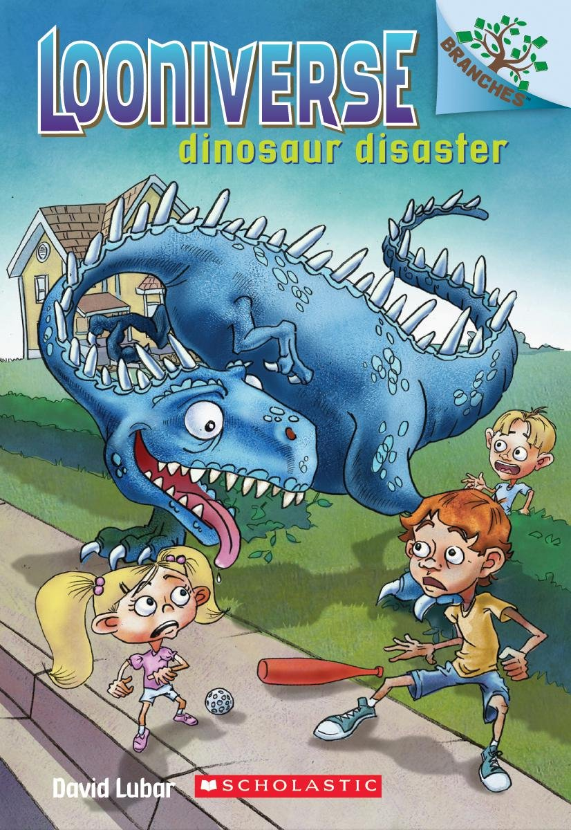 Download Dinosaur Disaster: A Branches Book (Looniverse #3) pdf epub