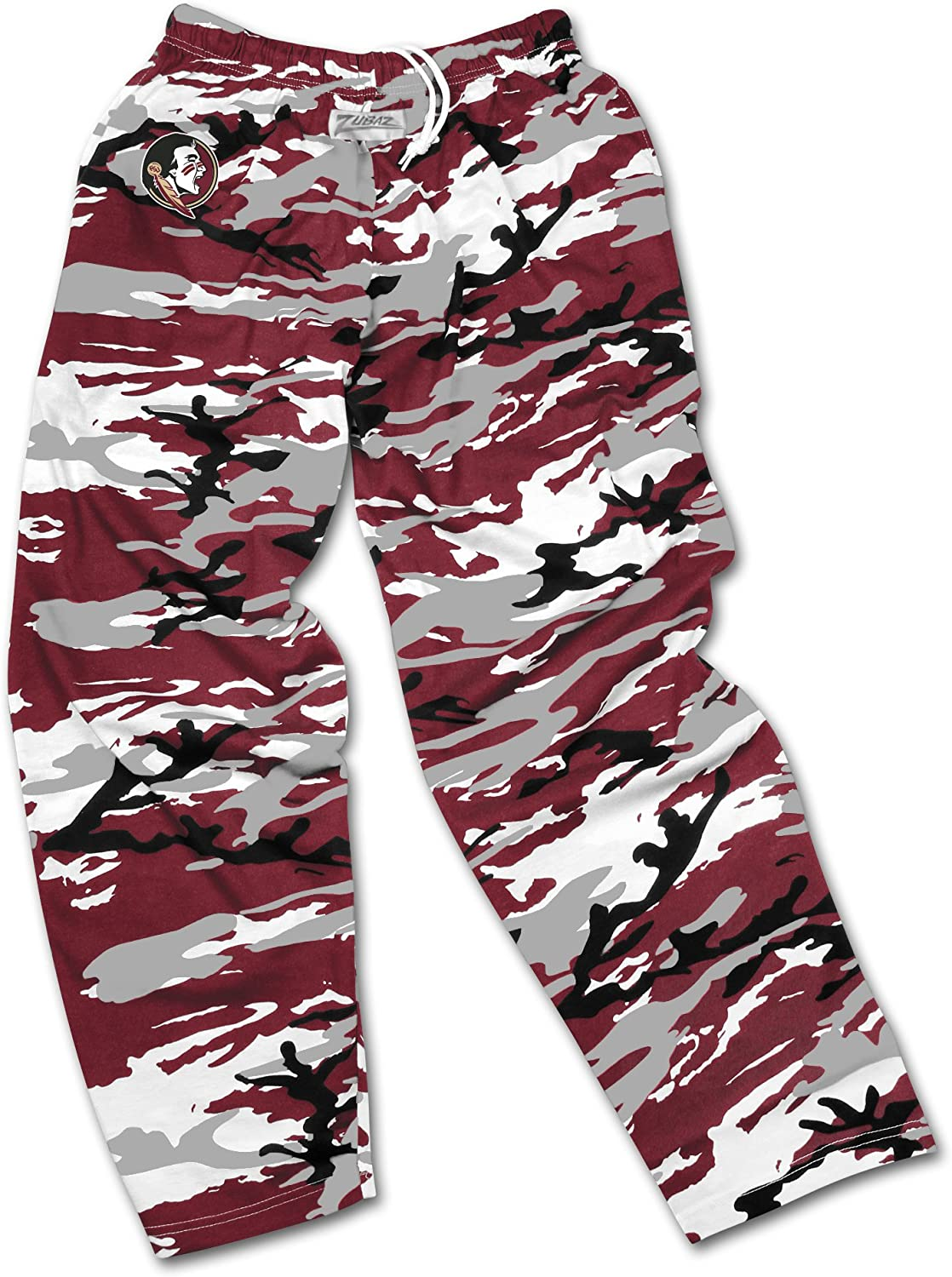 Team Color Zubaz Officially Licensed Mens NCAA Mens Casual Active Pants