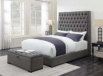Prime Amazon Com Coaster Camille Tufted Storage Bedroom Bench In Dailytribune Chair Design For Home Dailytribuneorg