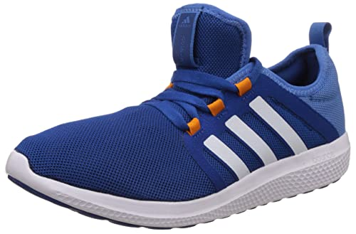 db1254a330a27 Adidas Men s Fresh Bounce M Blue and White Mesh Running Shoes - 11 UK  Buy  Online at Low Prices in India - Amazon.in