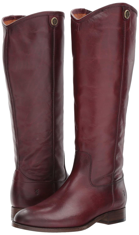 FRYE Women's Melissa Button 2 Extended Calf Riding Boot Extended B06VSJVTZB 5.5 B(M) US|Wine Extended Boot Calf 1e1267