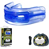 Brain-Pad LoPro+ Double Laminated Strap/Strapless Combo in one Adult Mouthguard