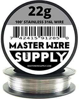 Pack of 5 Precision Tolerance 0.120 Diameter 73 Length WYTCH304-539 304 Stainless Steel Wire Spring Temper ASTM A313 Bright Finish