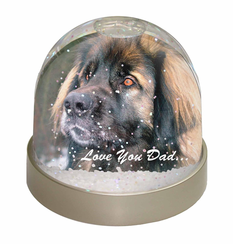 Advanta Leonberger Hund Love You Dad Foto Snow Globe Schneekugel ...