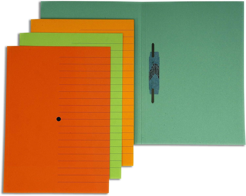 225 woodstock gr 10 pezzi 4company 3540 03 Cartellina permclip arancio Conf