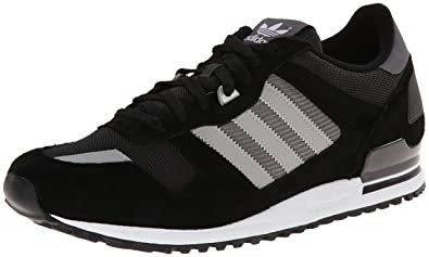 adidas Originals Men's ZX 700 Fashion Sneaker, BlackGreyGranite,
