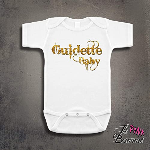 770febef8b0a7 HANDMADE Guido Guidette Italian Baby kids funny Humor Unisex Girls Boys  Newborn Infant Onesies Shower Gag Gift Shore Clothing Gifts Present  Personalized ...