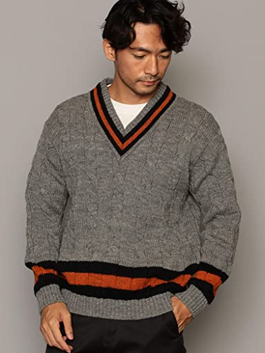 Wool Cricket Sweater 3213-499-1028: Grey