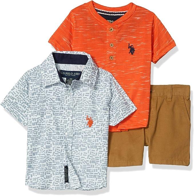 Polo Assn U.S Boys Shorts Set