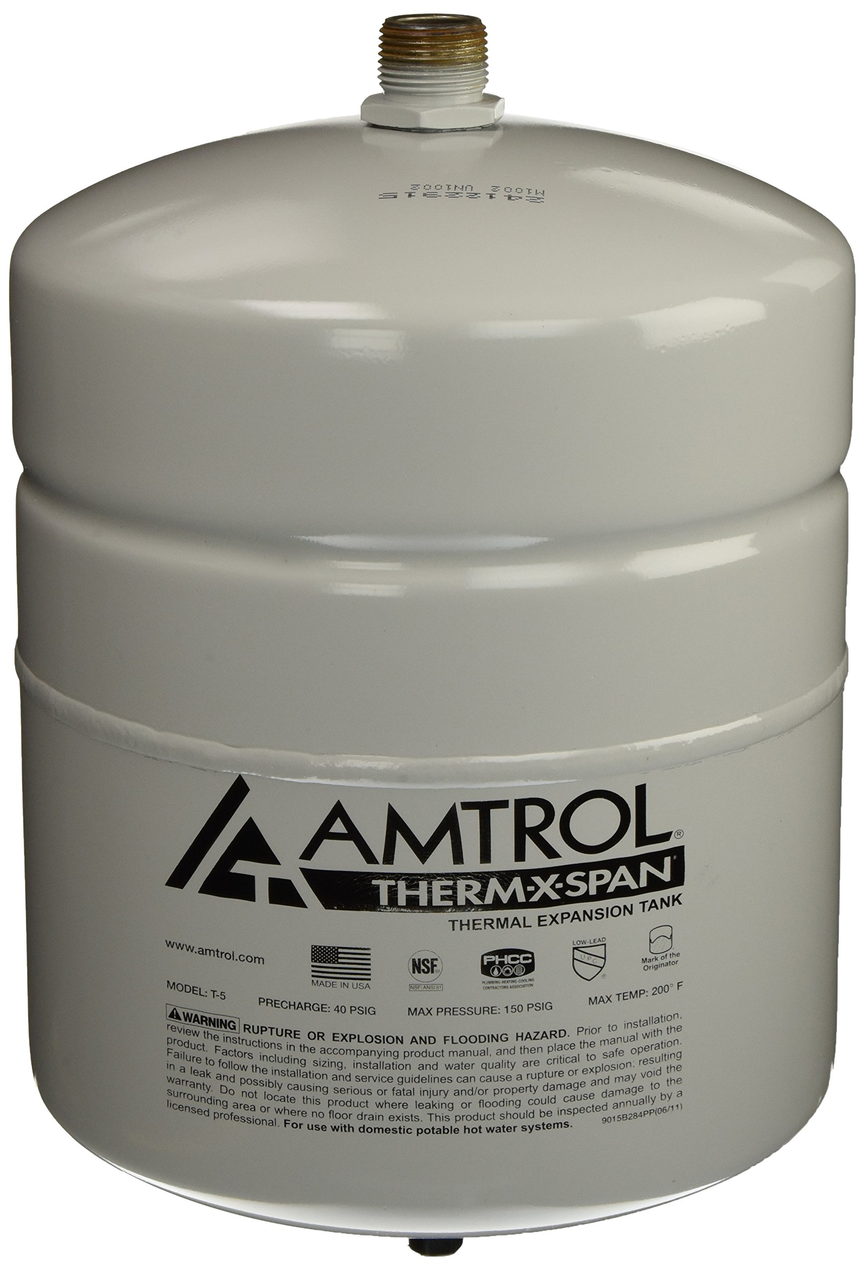 Amtrol T-5 THERM-X-SPAN Expansion Tank by Amtrol